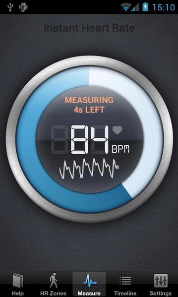 Instant Heart Rate ¿Cómo medir tu ritmo cardiaco con tu