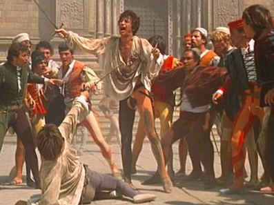 The Turning Point Is When Romeo Kills Tybalt