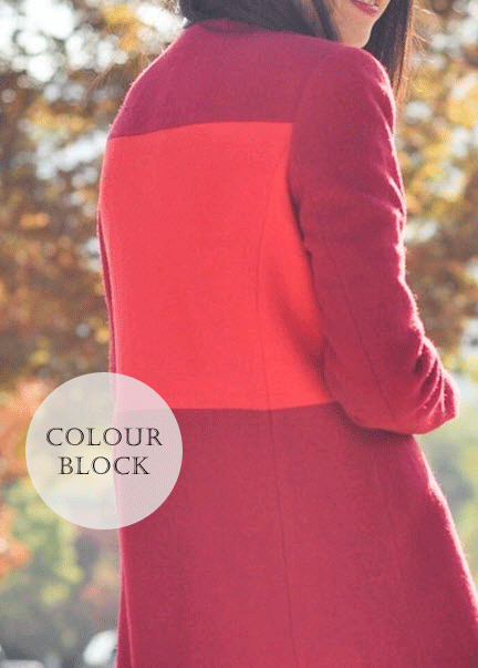c8a300d589a8 Color Block - Refashion    5 Ways to Update Your Winter Coat Fashion  Makeover