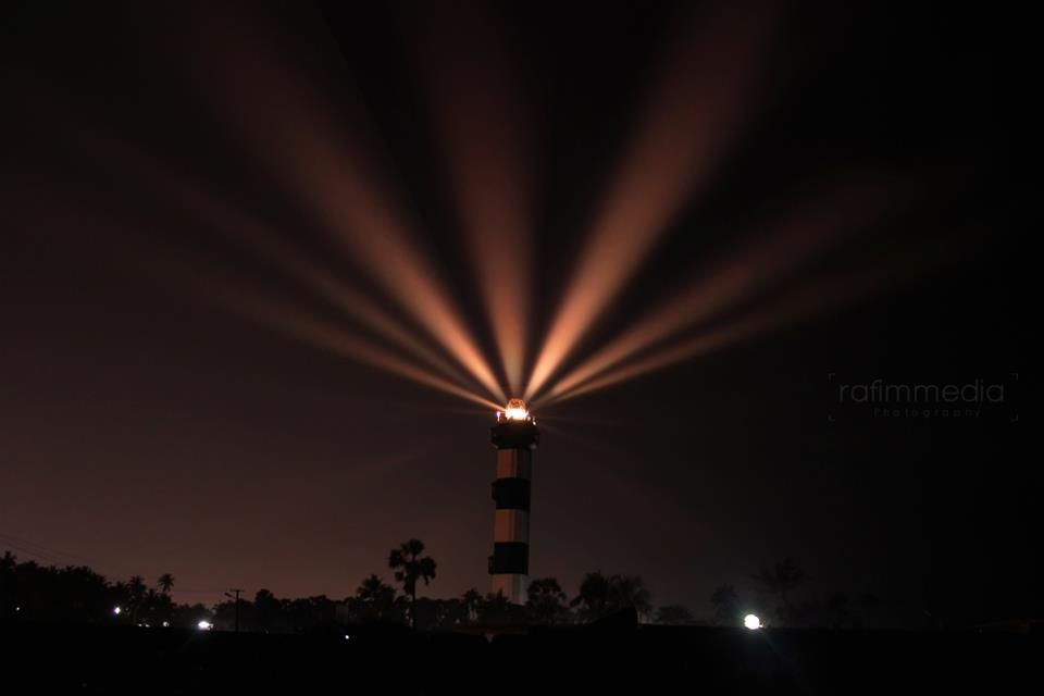 Night View of Beautiful #Pondicherry. Have a look at our Album