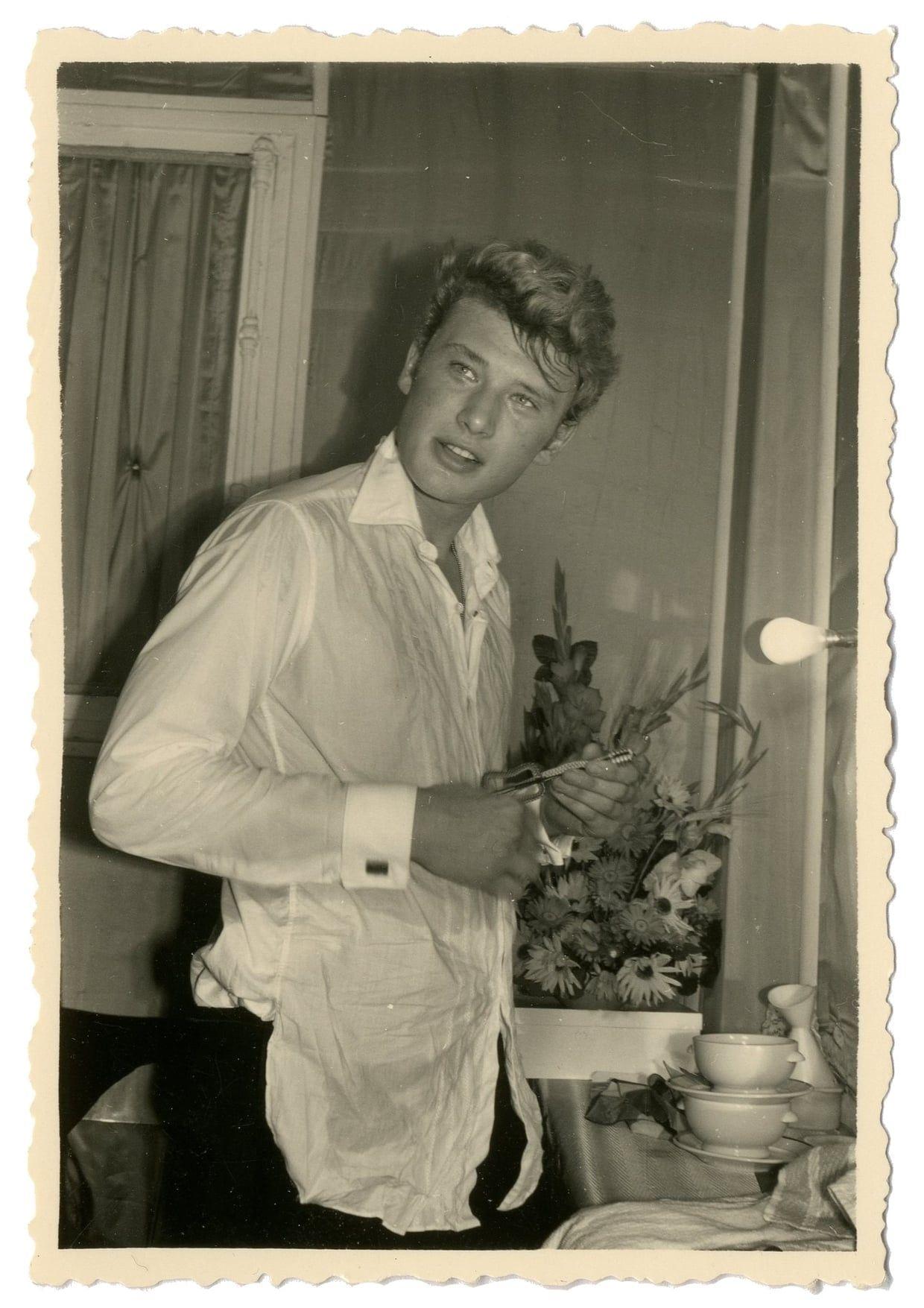 Johnny Hallyday 1956 dieulois