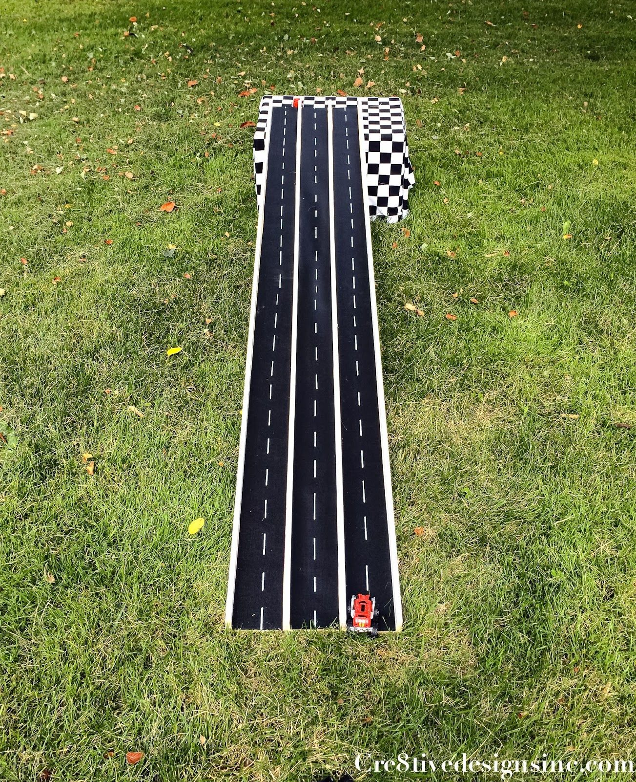 Backyard Projects for Kids DIY Race Car Track Monster