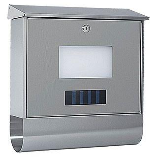 die besten 25 edelstahl briefkasten mit zeitungsfach ideen auf pinterest briefkasten. Black Bedroom Furniture Sets. Home Design Ideas