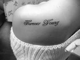 forever young tattoo - Google Search
