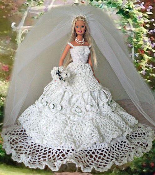 Gaylee\'s Dollhouse - White Rose Bride | Barbie wedding | Pinterest ...