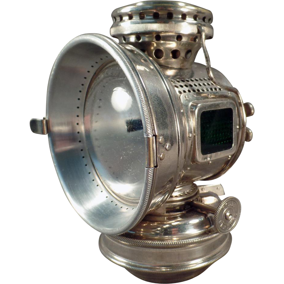 Antique 20th Century Kerosene Bicycle Lamp From 1898 Antique Bicycles Bicycle Antiques