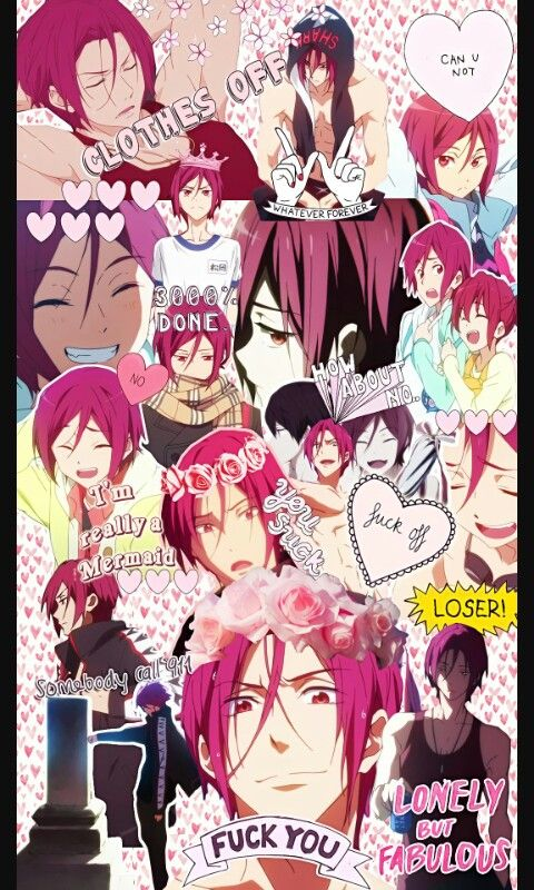 Rin Matsuoka Free Anime Anime Anime Wallpaper A bunch of great pictures to bless your eyes   see more about aesthetic. rin matsuoka free anime anime anime