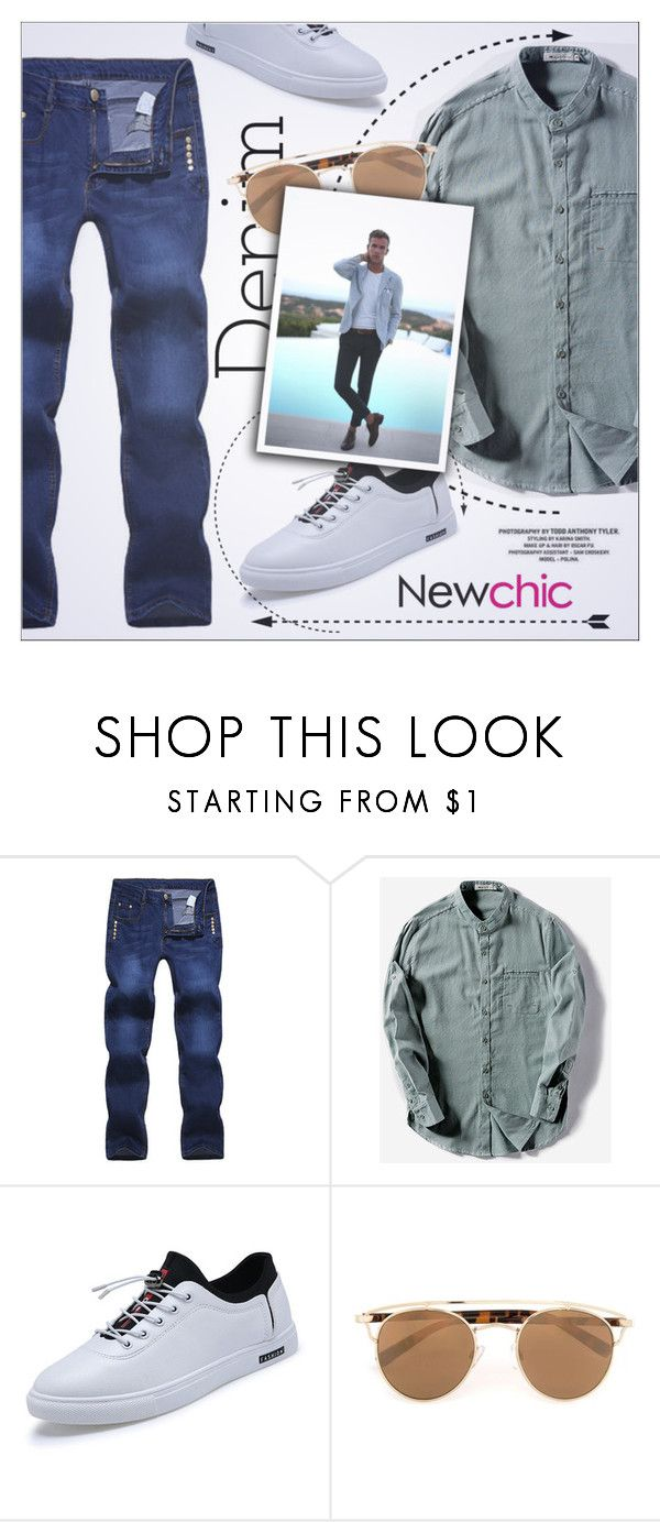 """Vintage casual - Newchic"" by yoa316 ❤ liked on Polyvore featuring Topman, vintage, men's fashion and menswear"
