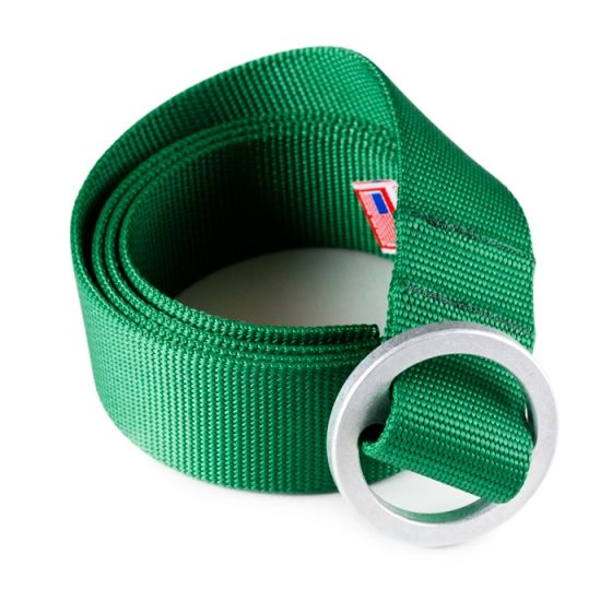 simple web belt. available in green, red & blue. $42 from #Topo Designs.