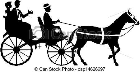 Vector Couple On Horse And Carriage Stock Illustration Royalty Free Illustrations Stock Clip Art Icon Stock Clipar Horses Art Transportation Free Horses