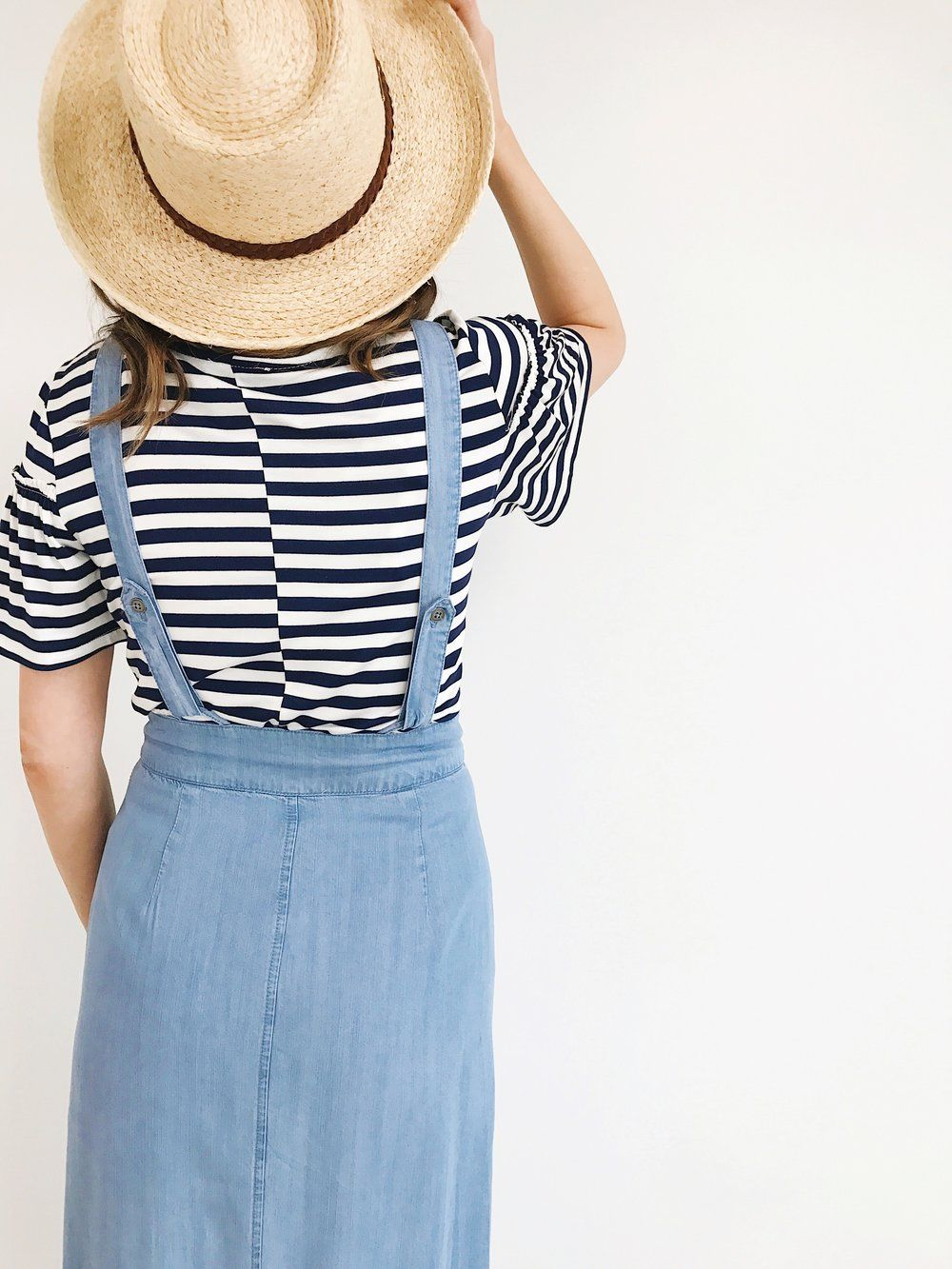Overall maxi skirt fashion pinterest models and fashion