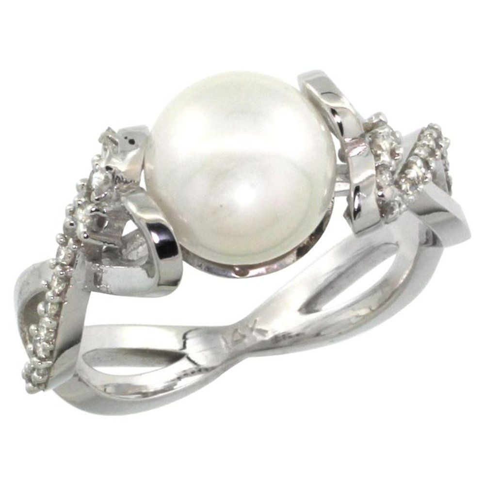 unique pearl engagement rings are unfilled in a large variety