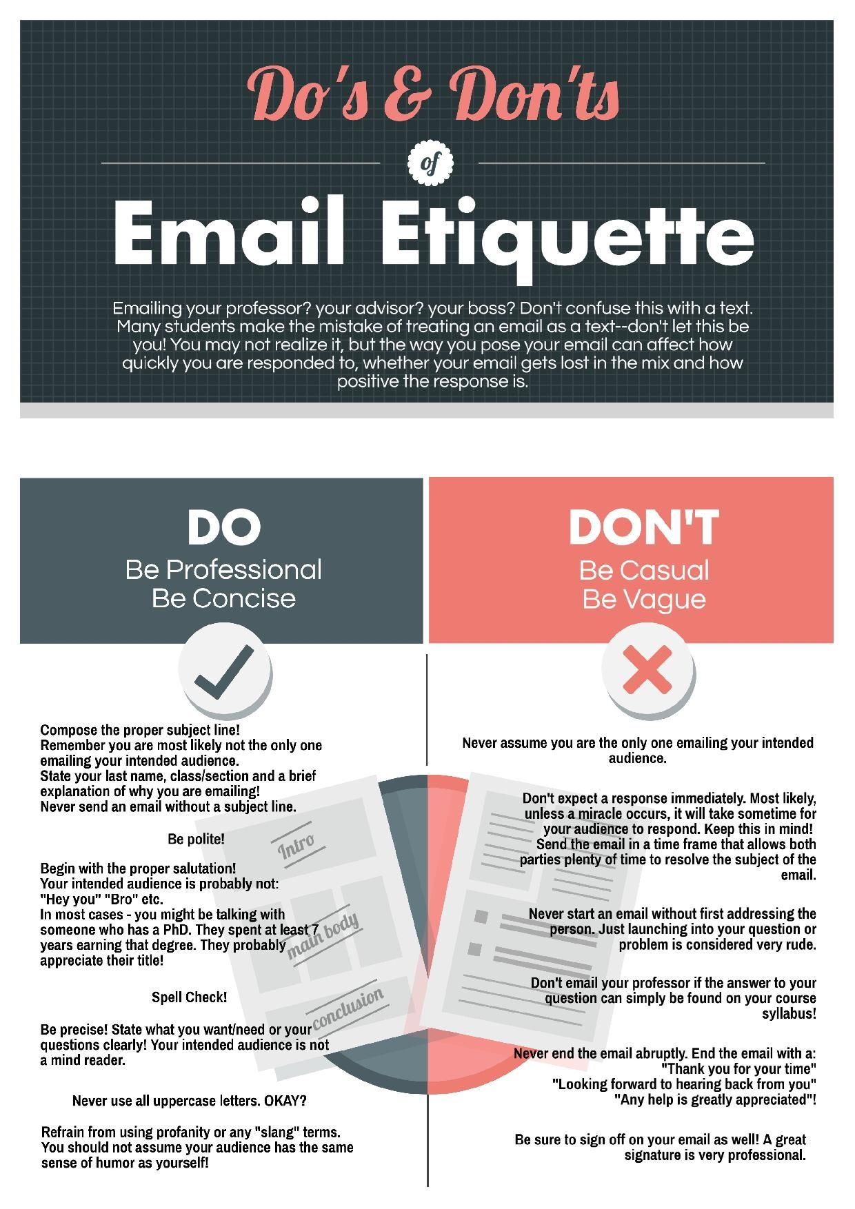 the do u0026 39 s and don u0026 39 ts of email etiquette  ku