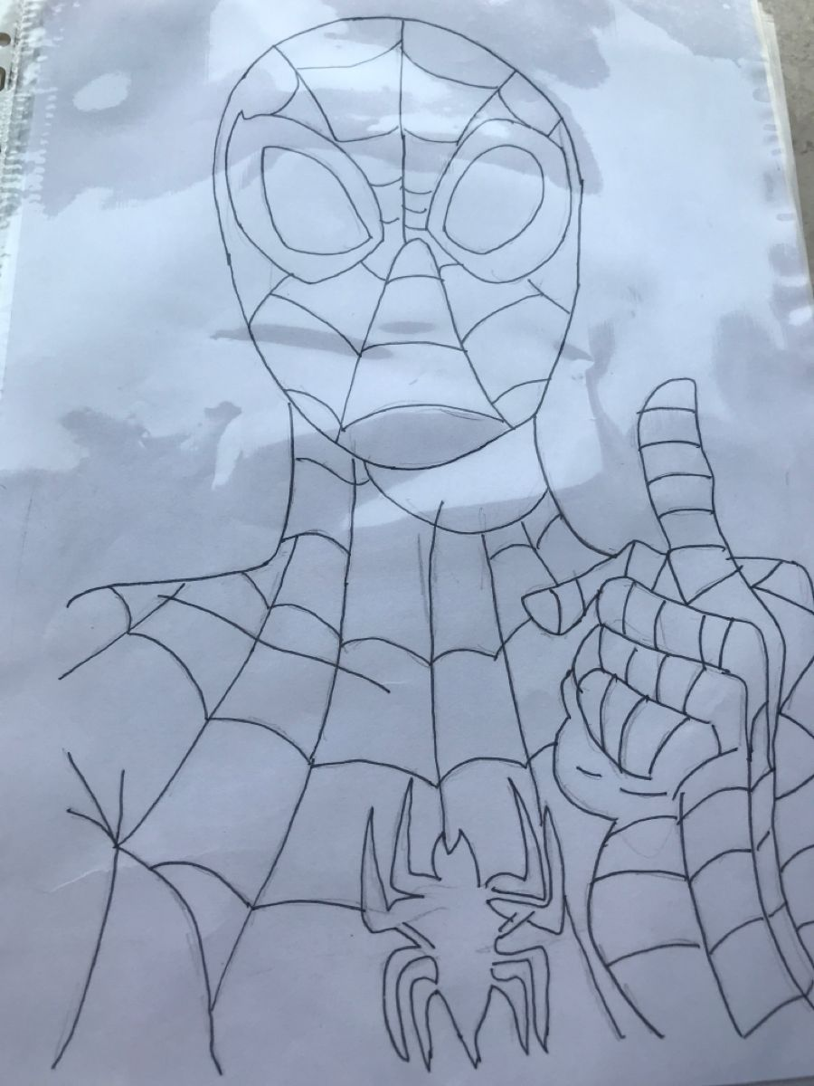 Spider Man Colouring Page Coloring Pages Spiderman Color