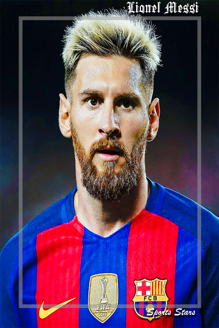 Lionel Messi New Hairstyle Lionel Messi Messi News Messi
