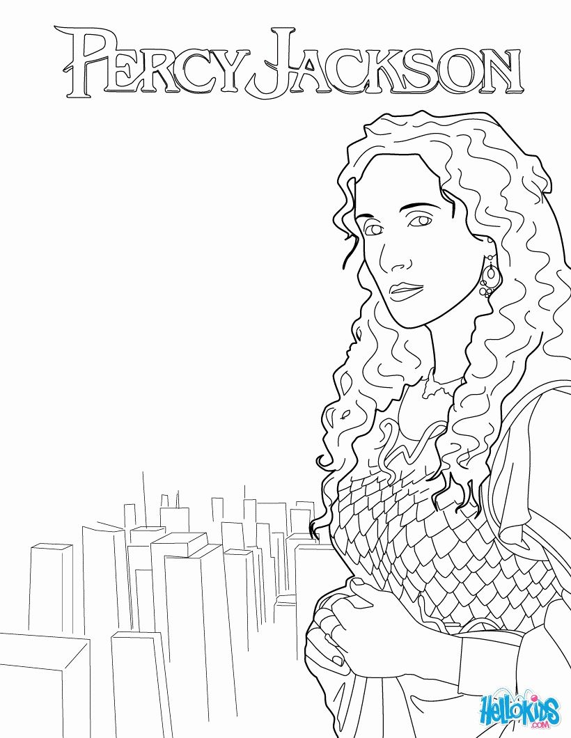 Percy Jackson Coloring Book Inspirational Percy Jackson