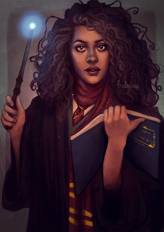 Image result for harry potter female characters fanart