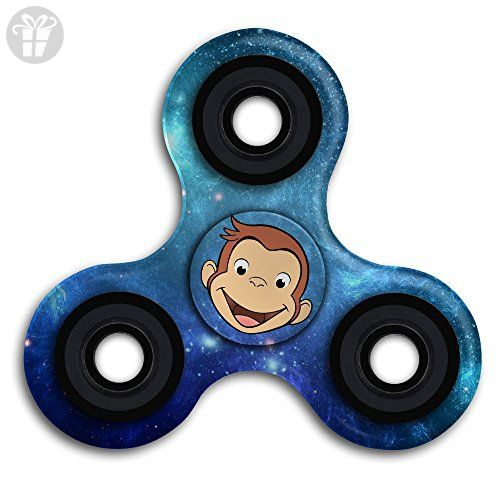 Curious George Cartoon Fidget Spinner Toy Hand Spinner Stress Reducer - Fidget spinner (*Amazon Partner-Link)