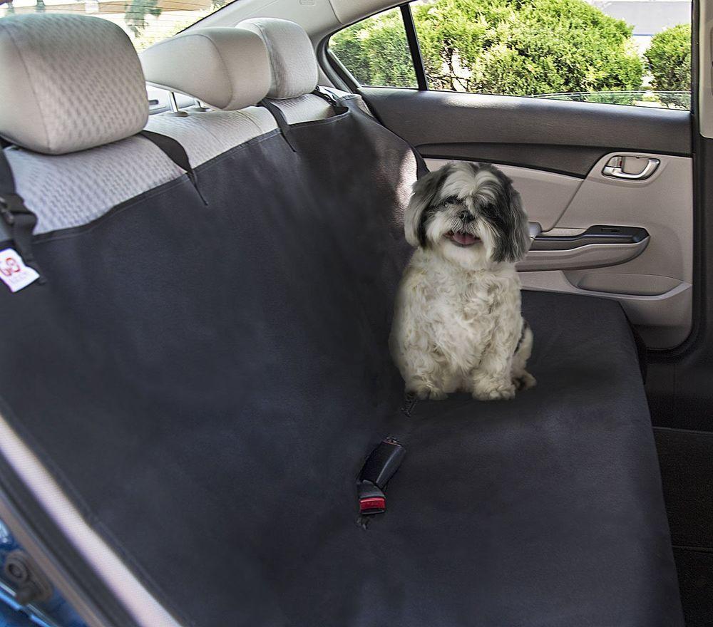 Luxury Pet Car SUV Van Back Rear Seat Cover Waterproof Hammock for