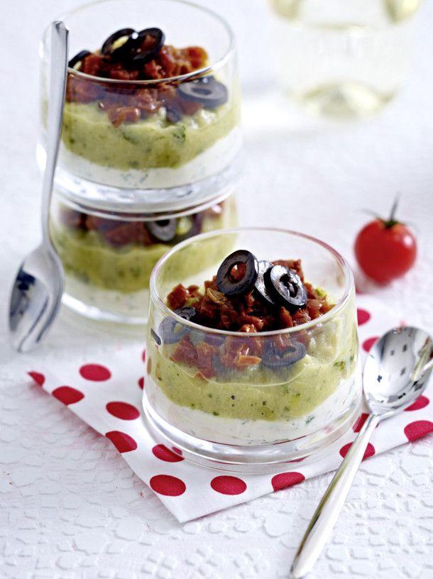 Zucchinipüree mit getrockneten Tomaten Rezept Tapas, Snacks and