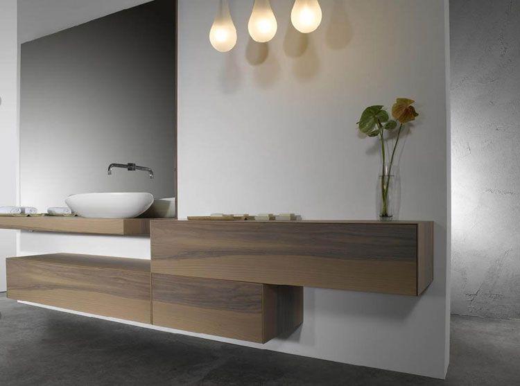 Mobile bagno sospeso design moderno n.01 | Bagni di design ...