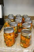Canarella: Spicy Pickled Carott and Jalapeno