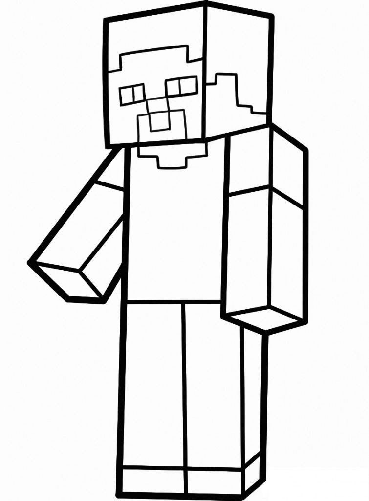 ed7ee9fd33cec9e42b2844cef2f75f79 » Minecraft Zombie Pig Man Coloring Pages