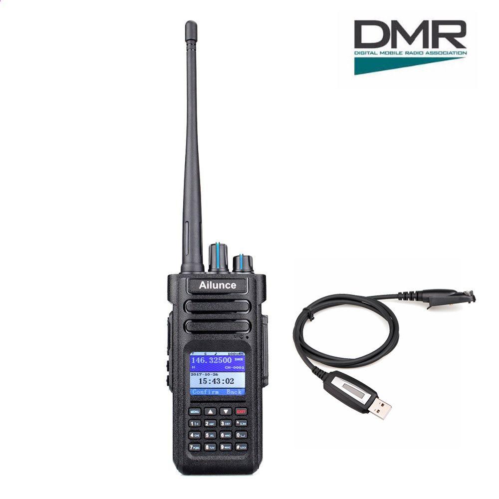 Ailunce HD1 Speaker Microphones For HD1 DMR Digital DCDM TDMA  Two-Way Radio
