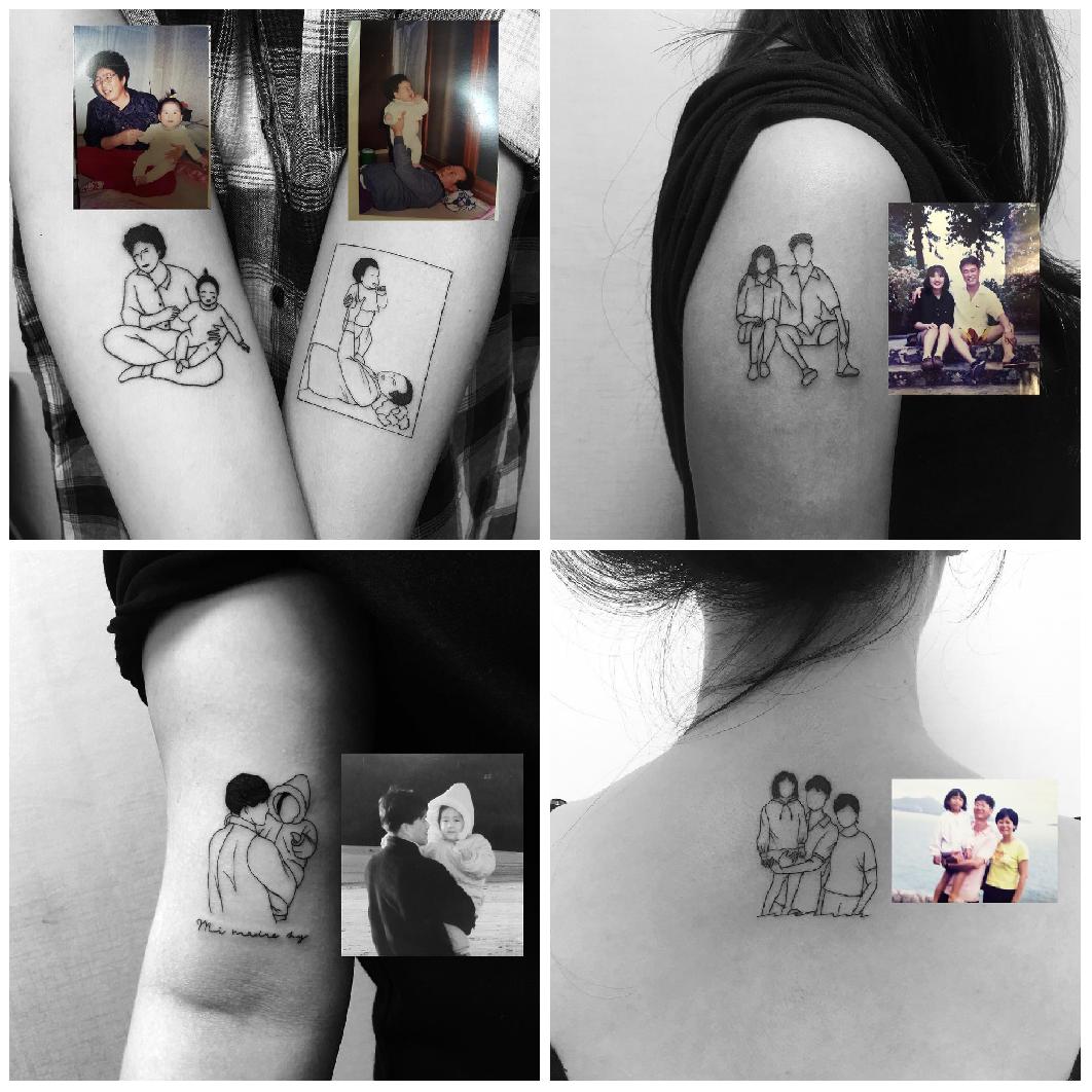 25 tatuajes minimalistas para recordar lo que más amas 11