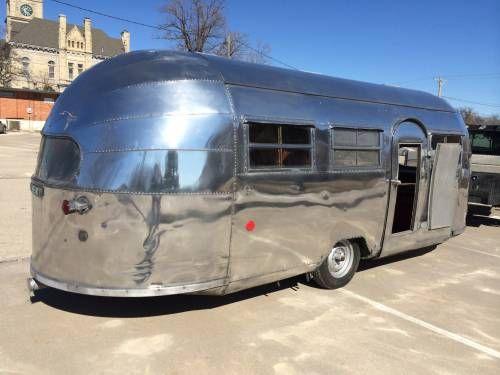 1948 Airstream Liner 22 Foot Vin 1200 Vintage Campers Trailers