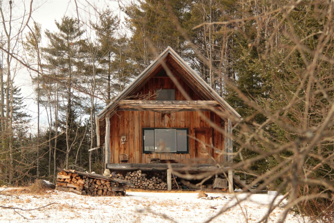 cabin in the white mountains franconia new hampshire mountain rh pinterest com