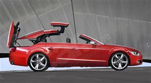 4 Door Hard Top Convertible Coming From Audi Maybe Someday