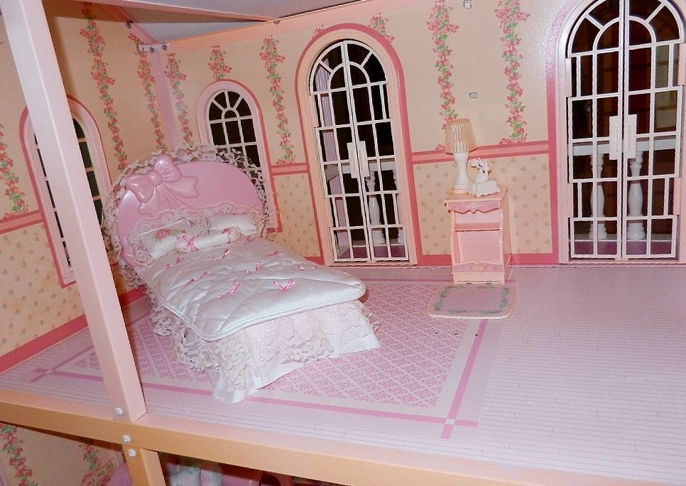 Bedroom of the Barbie Magical Mansion by