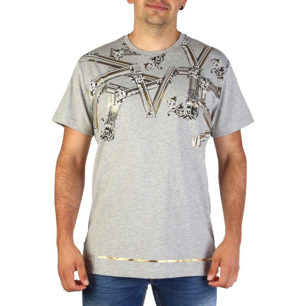 Versace Men Grey T Shirts Versace Jeans Versace Versace Men