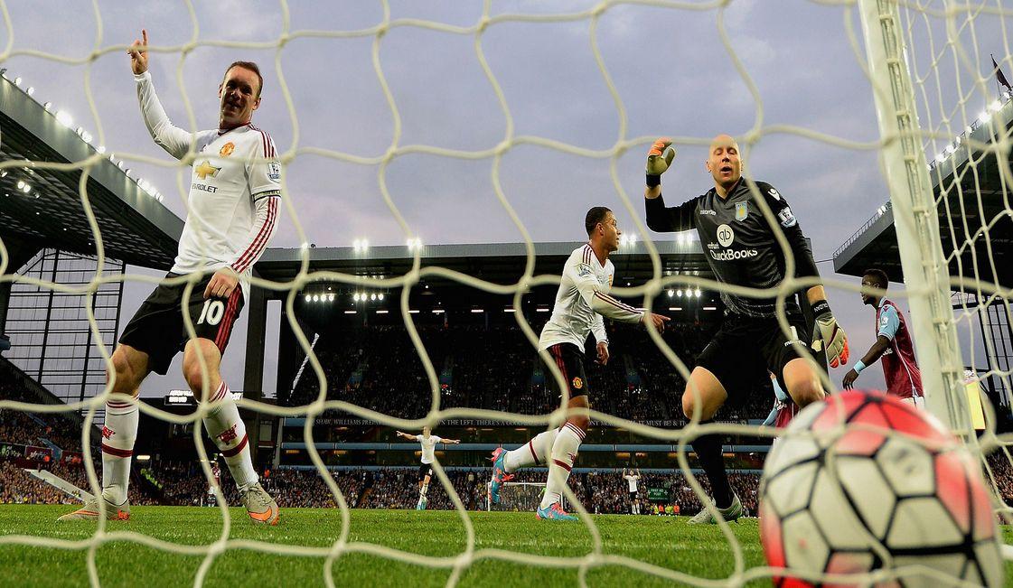 Aston Villa vs Manchester United Adnan Januzaj strike wins