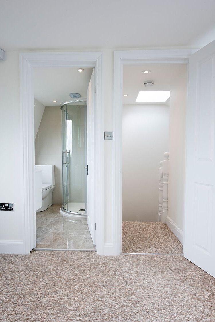 Image By Catrions Conlon On Bathroom Loft Bathroom Loft Conversion Attic Renovation
