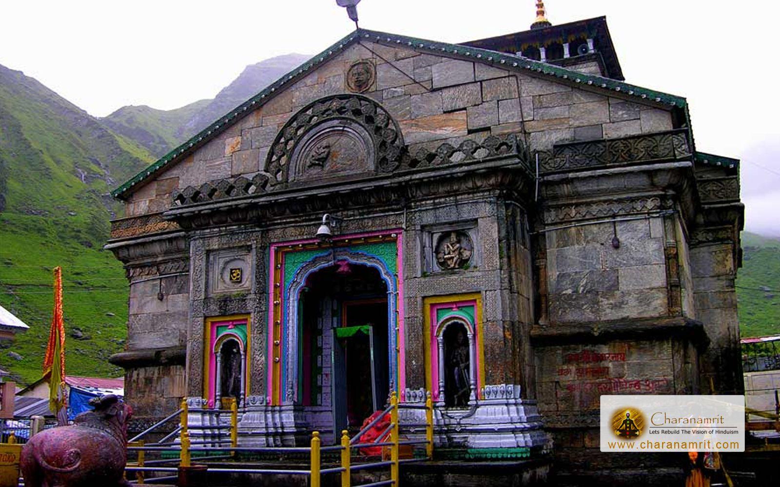 Hd wallpaper uttarakhand -  Charanamrit Uttarakhand Most Popular Temples Yamunotri And Kedarnath Were Closed On