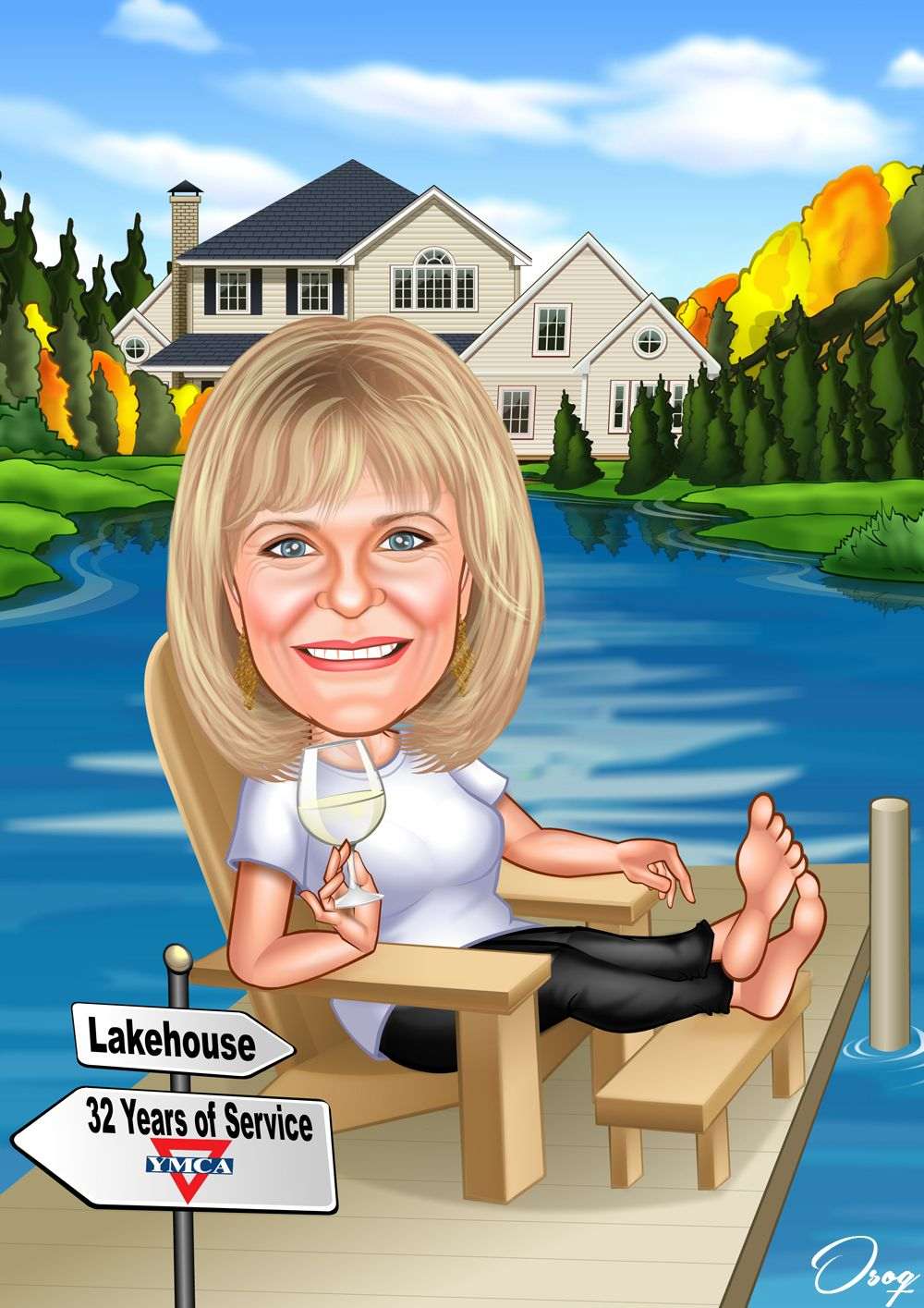 Woman Retirement Images With Images  Caricature, Image -4781