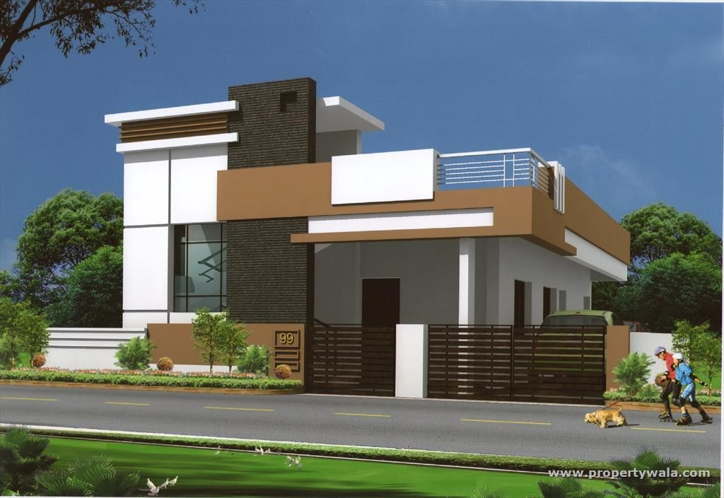 Related image house elevation indian single pinterest for Indian house front elevation photos for single house
