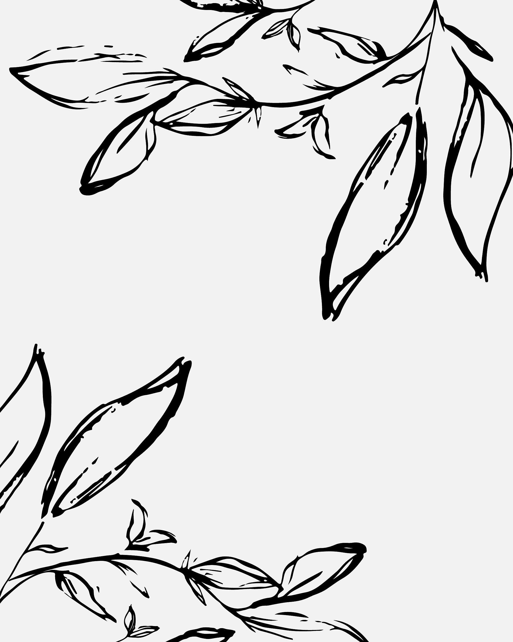 Botanical Illustration By Anchored Publishing Simple Design