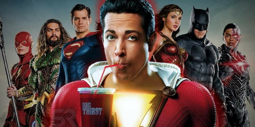 Shazam Movie What/'s Inside DC Comics Officially Licensed Adult T-Shirt