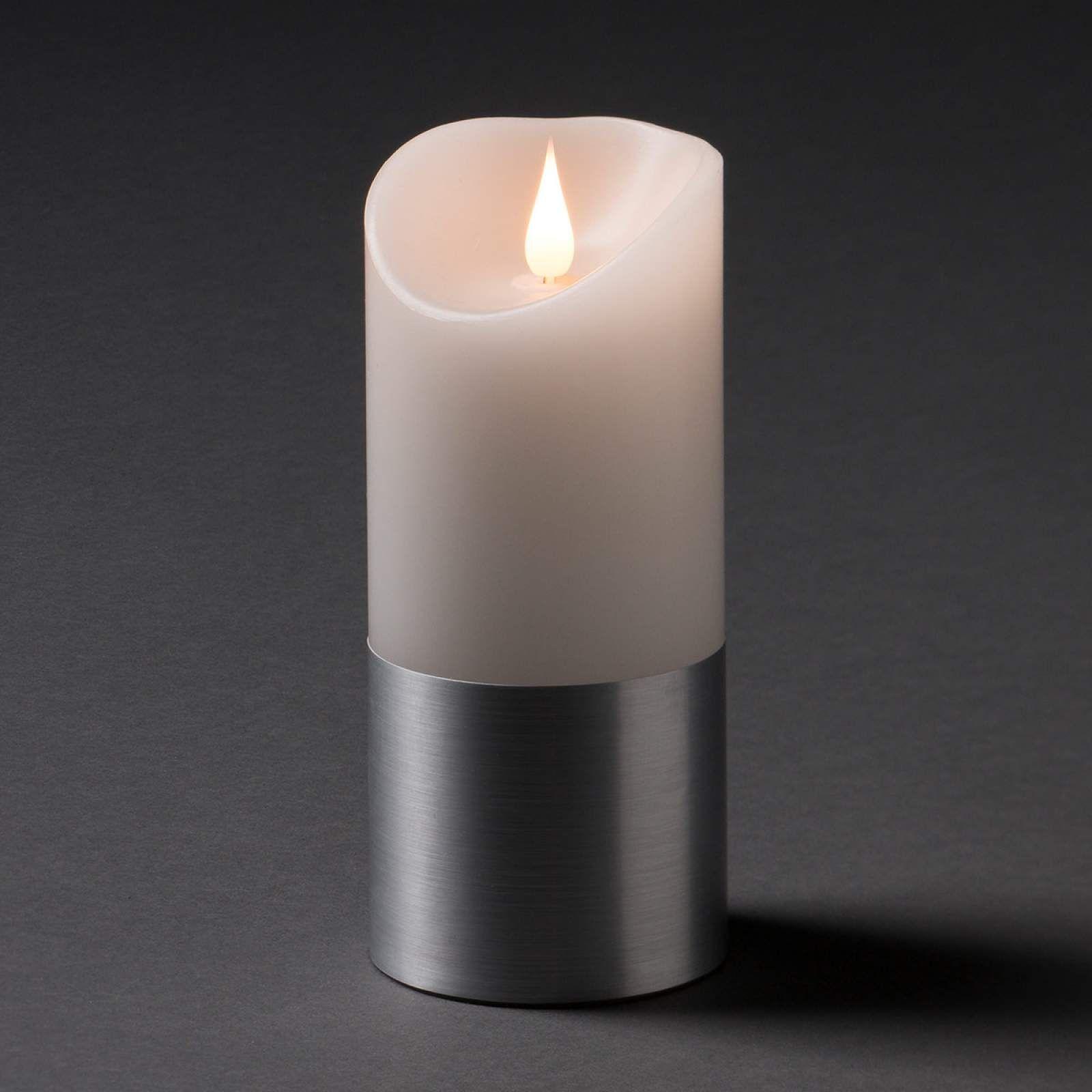 Led Kerze Kerze Von Konstmide Christmas Weiss Led Kerzen Led Und