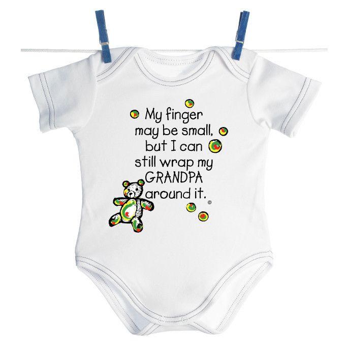 I LOVE MY GRANDAD//GRANDPA BABY BODY GROW SUIT VEST CUTE GIRL BOY GIFT IDEA