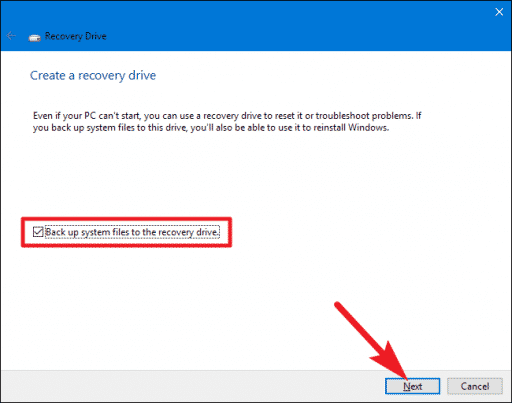 How To Create A Windows 10 Recovery Disk On Usb Recovery