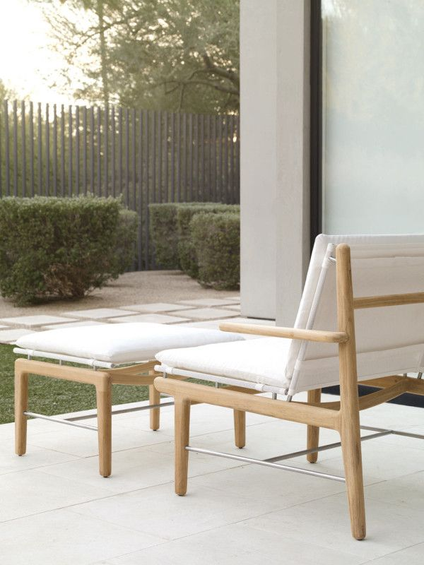And Kasper Rønn Of Norm Architects Designed Their First Outdoor Collection For America That S Available Exclusively Through Design Within Reach