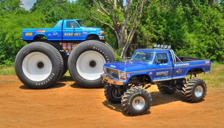 bigfoot 1 toys bigfoot 1 monster truck restoration. Black Bedroom Furniture Sets. Home Design Ideas