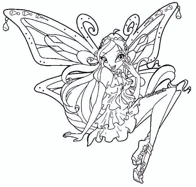 Layla Winx Club Coloring Pokemon Coloring Pokemon Coloring Pages Coloring Pages