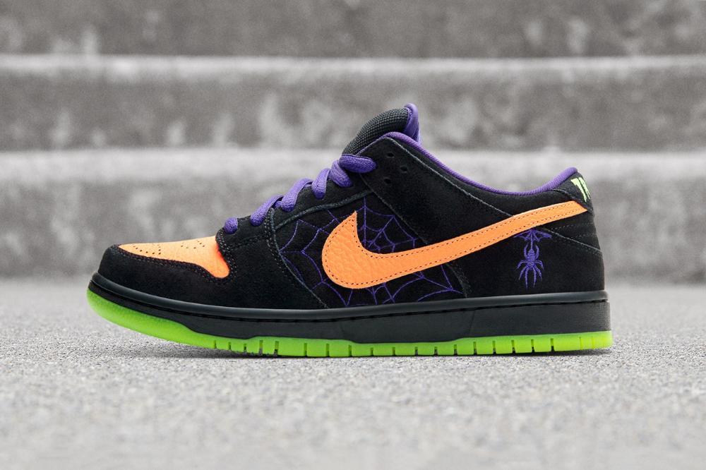 Nike Sb Gets In The Halloween Spirit With Dunk Low Night Of Mischief In 2020 Nike Sb Nike Sb Dunks Nike