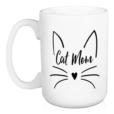 Wrought Studio Erskine Cat Mom Coffee Mug In 2021 Mom Coffee Mugs Cute Coffee Mugs