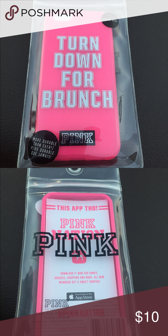 45637043138 🥐PINKIPhone 6 6s Phone case🥐 Brand new in package Pink iPhone 6 6s ...